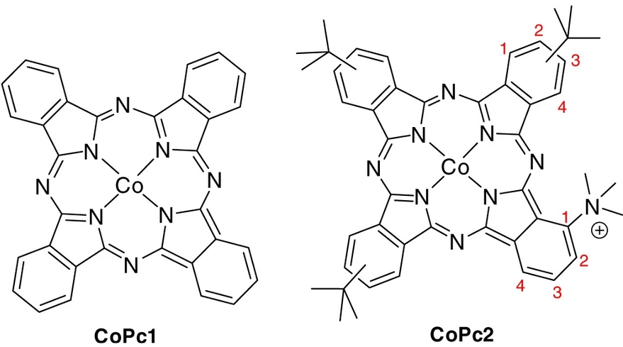 CO2 Electrochemical Catalytic Reduction with a Highly Active Cobalt Phthalocyanine
